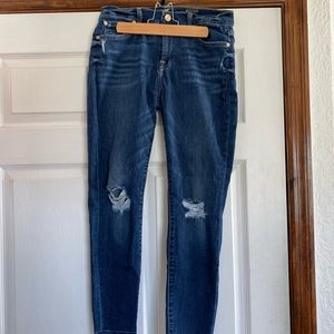 7 For All Mankind The Ankle Skinny Size 28